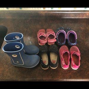 Little Girls Shoe Lot